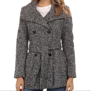 Calvin Klein Tweed Coat